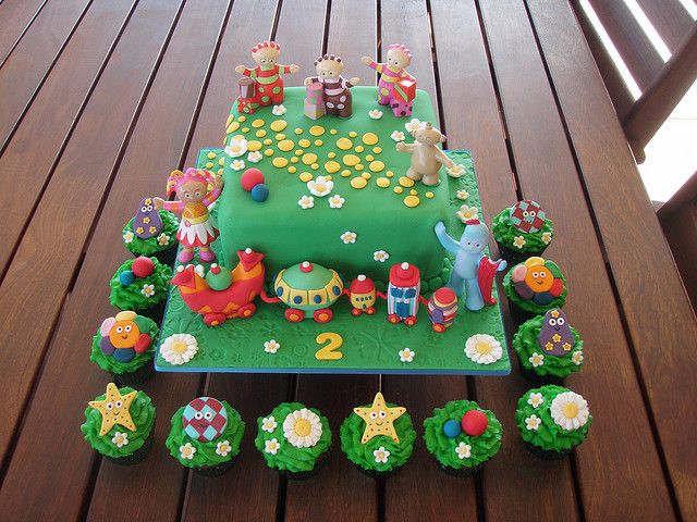 Mossy's masterpiece - In The Night Garden Cake with the Ninky Nonk. | Flickr - Photo Sharing!