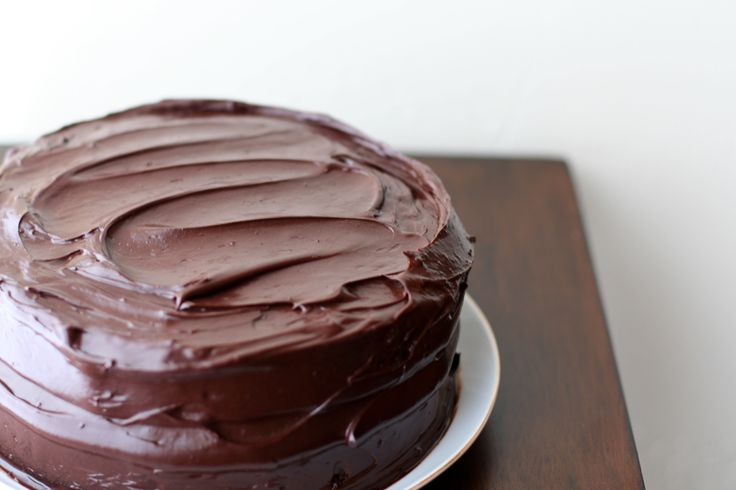 Paleo Chocolate Mayonnaise Cake I