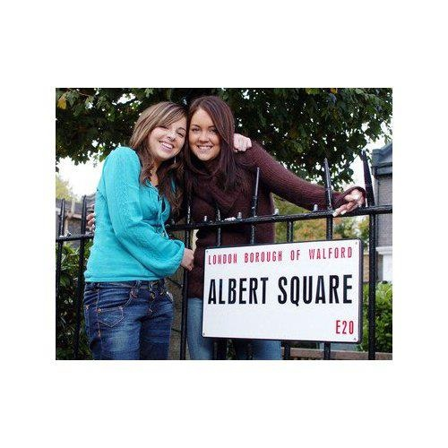 Ruby Allen and Stacy Slater played by Louisa Lytton and Lacey Turner.