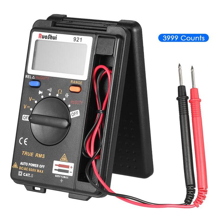 RuoShui Portable Pocket 3999 Counts Auto Range True RMS Sales Online - Tomtop.com