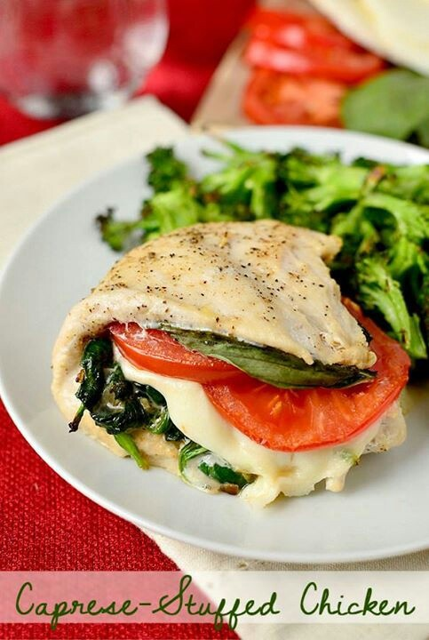 ... sooooo good!! | Delicieux | Pinterest | Stuffed Chicken and Chicken