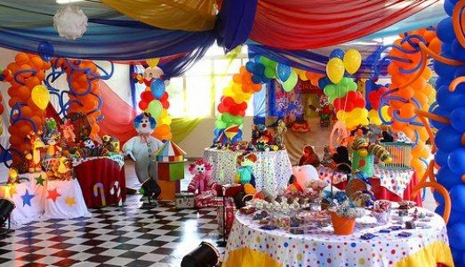 Circus Decorations | ... Decoration Circus Theme | Tips Kids Party - Ideas, Themes, Decorations