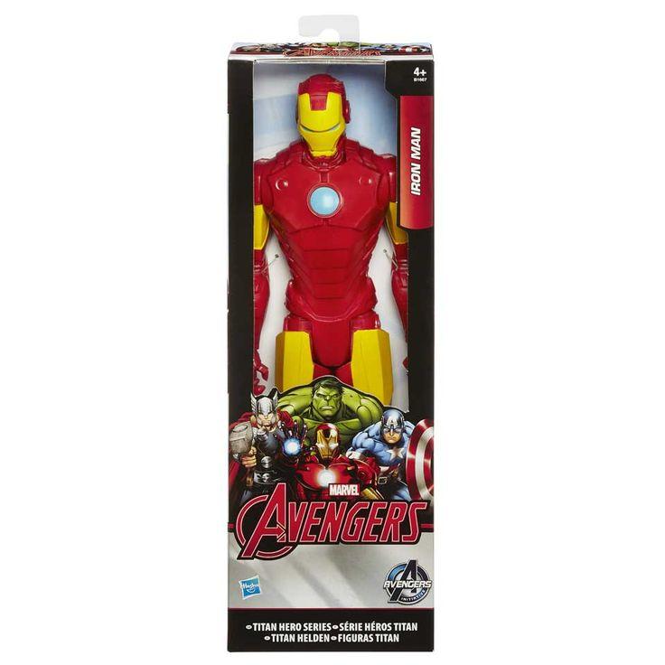 Marvel Avengers Titan Hero Iron Man actiefiguur | Bart Smit