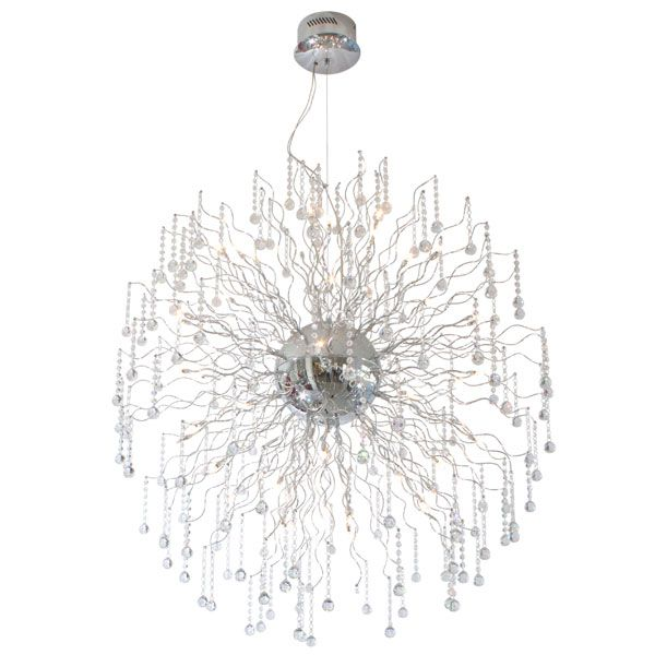 Eurolux P305 - Meteor Extra Large Crystal Pendant With Cable Suspension