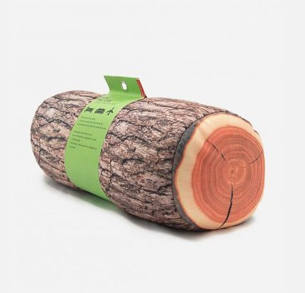 Made of 85% polyester and filled with 100% polystyrene microbeads, this log shaped pillow is suitable to rest your head and neck. http://zocko.it/LDN6O