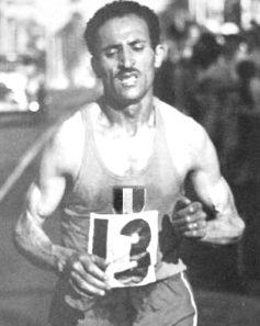 Alain Mimoun, 1956 Olympic marathon champion