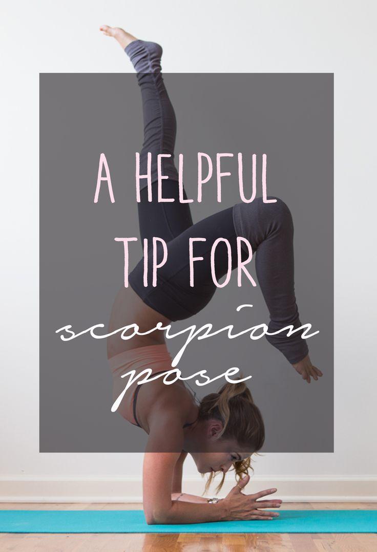 Pin now, practice later - scorpion pose! Wearing: alo yoga pants, sweaty betty bra. Using: Jade yoga mat.