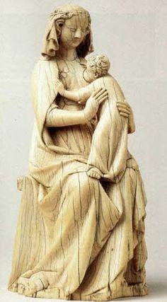 Maria Lactans, France late 14th century.