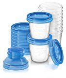 Philips AVENT Breast Milk Storage Cups, 6 Ounce (Pack of 10)
