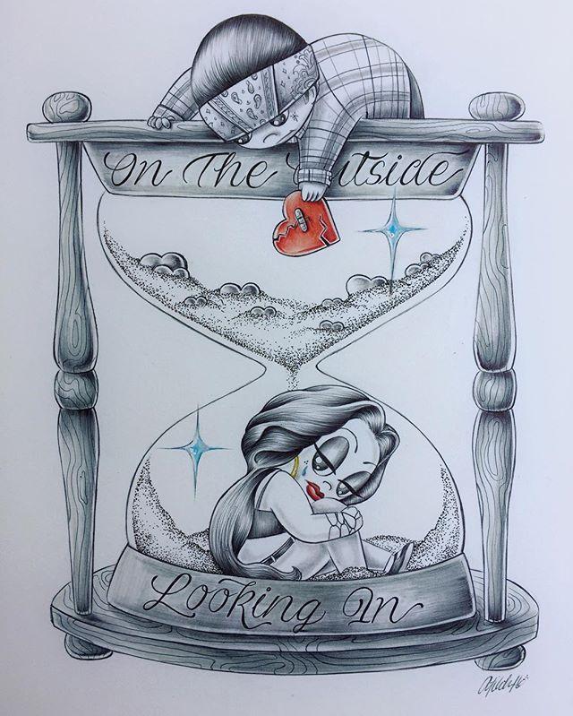 #VarrioLoveIs #ballpointpen #illustration