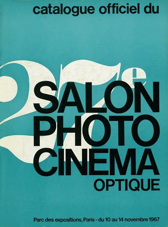 Les affiches du salon de la photo depuis 1926