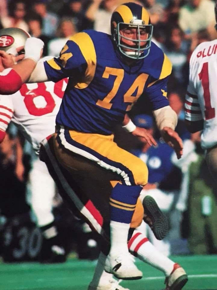 Merlin Olsen, member of the Fearsome Foursome