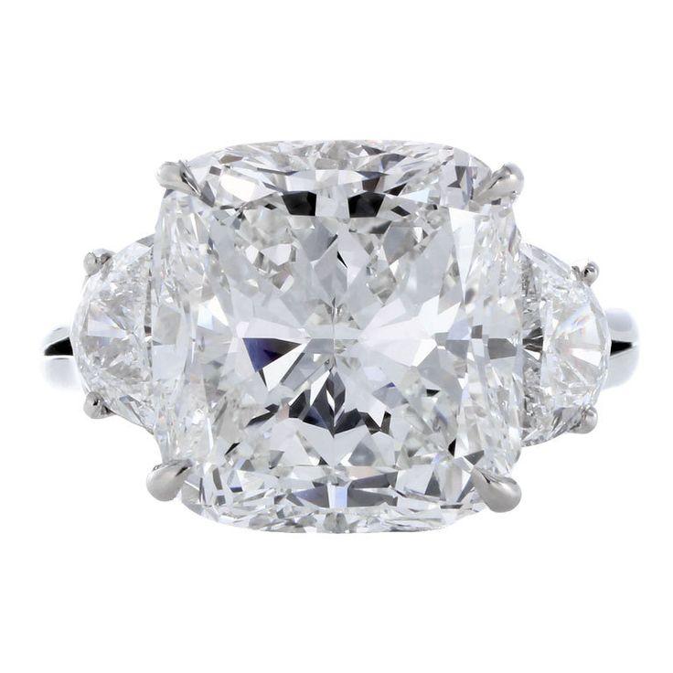 Harry Winston Cushion Cut Diamond