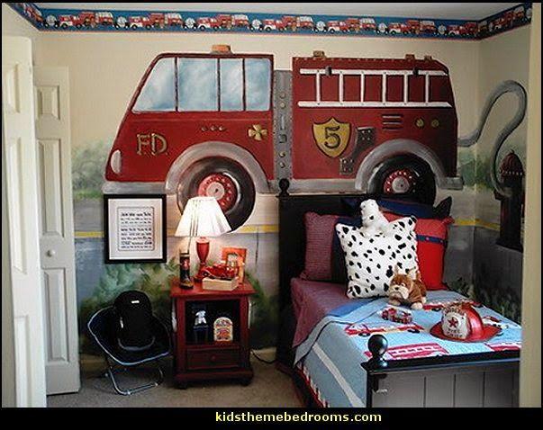 122 besten kinderzimmer feuerwehr bilder auf pinterest. Black Bedroom Furniture Sets. Home Design Ideas