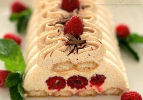 Tiramisu με σμέουρα, και κρέμα κανέλας   Rodopi Berries