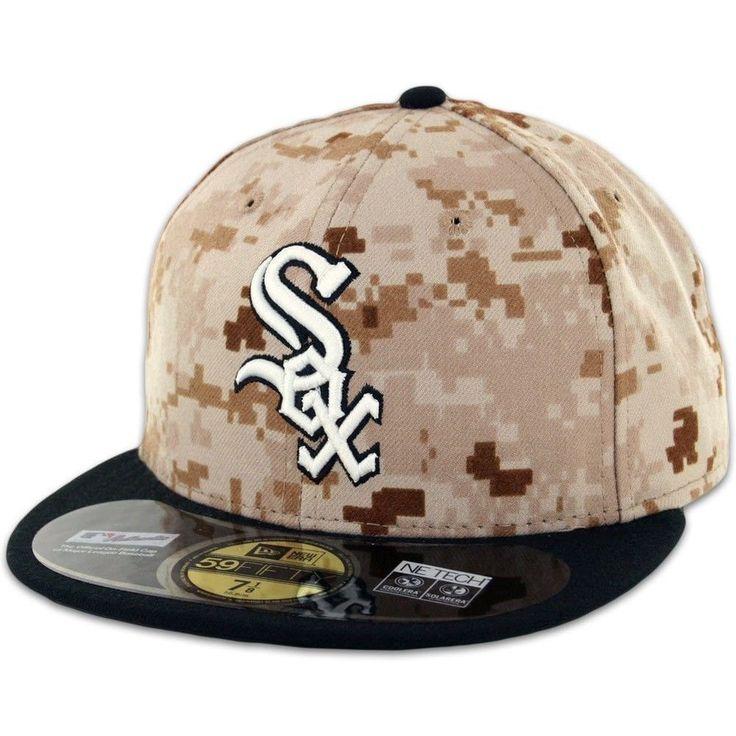 b19fb010972 ... new chicago white sox digital camo on field new era 59fifty fitted hat  7  boné snapback original baseball cap hater ...