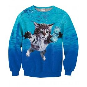 CAT COBAIN Sweatshirt