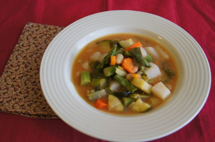 Spring Vegetable Stew | The Slender Kitchen