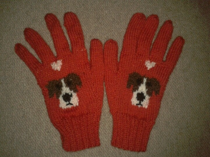 Jack Russell gloves