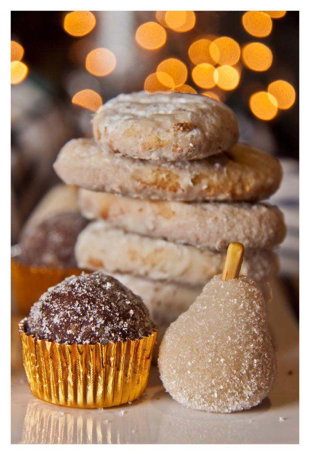 Dulces y galletas de Navidad