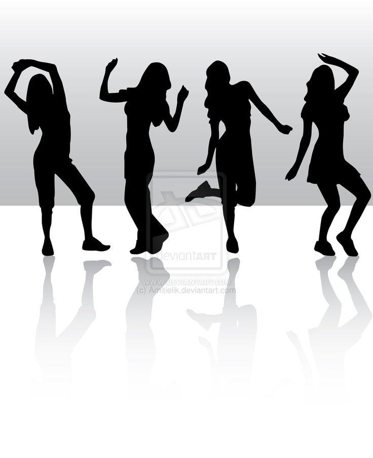 Tumblr+People+Dancing | Dancing silhouette by Amitielik on deviantART