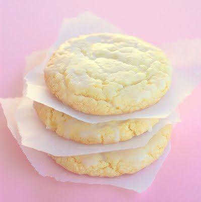 Lemon Drop Cookies.  http://www.the-girl-who-ate-everything.com/2011/04/lemon-drop-cookies.html