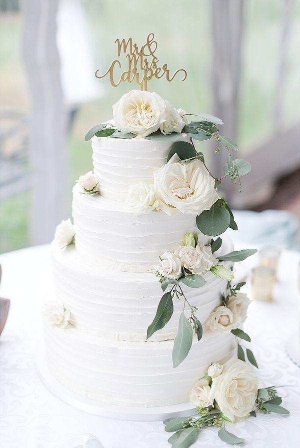 Schicke Hochzeit in Salbeigrün und Gold mit öligem Eukalyptus – CINDY CAKE …   – Cake Topperss