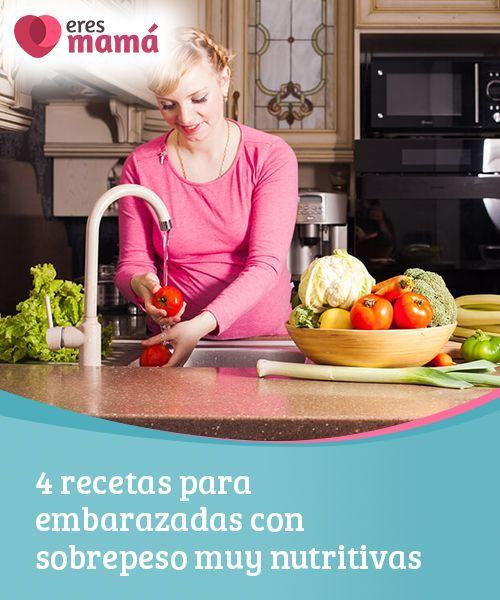 Alimentacion para embarazadas con sobrepeso