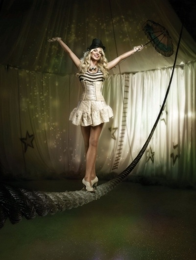 Britney Spears 'circus' music video- circus themed wedding inspiration.