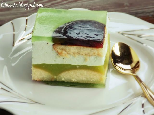Pychotkaaa: Shrek ciasto bez pieczenia
