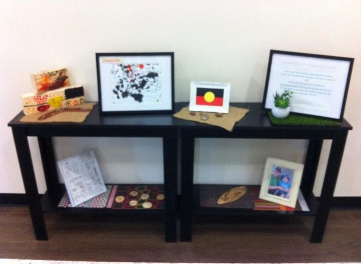 Fraser Coast Early Learning creates an acknowledgment space in the foyer.