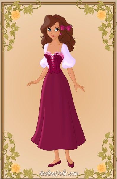 Disney princess high school dolls