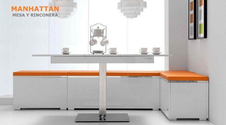 17 mejores ideas sobre mesa rinconera de cocina en for Mesa rinconera para cocina