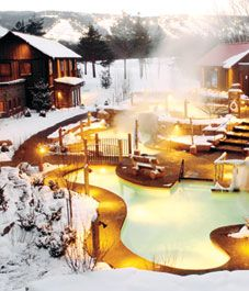 scandinave spa. been here, it's amazing! eucalyptus steam room, relaxation rooms,  ice cold pools and hot pools.