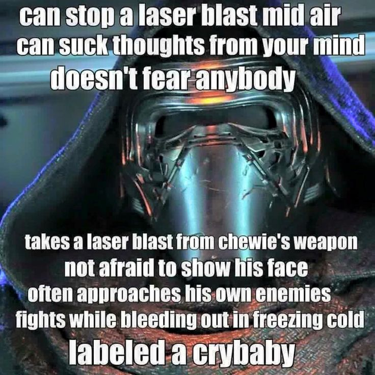 Such stereotypes! I think he's what they call a Champion of The Dark Side