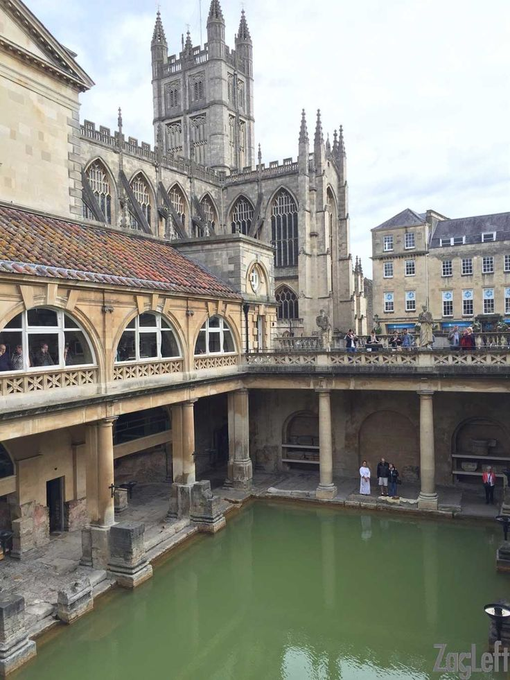 If you're planning a trip to England, consider spending a day in the beautiful city of Bath...| www.zagleft.com