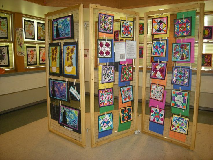 Exhibition Display Boards : Best images about art shows and organization on