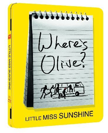 Little Miss Sunshine (blu-ray Steel Pack) Greg Kinnear Toni Collette Steve Carell and Alan Arkin star in this hilarious comedy about hitting the road...and driving to the edge of insanity! Seven-year-old Olive Hoover (Abigail Breslin) wants t http://www.MightGet.com/january-2017-12/little-miss-sunshine-blu-ray-steel-pack-.asp