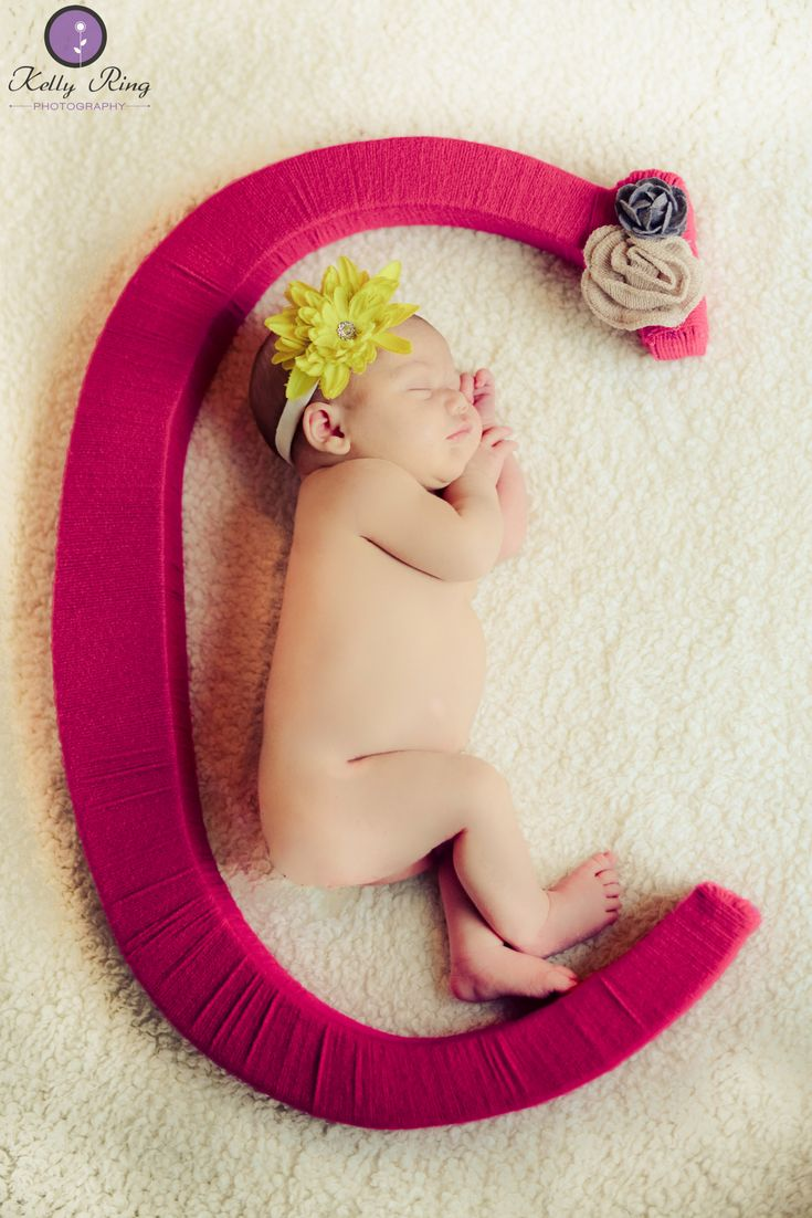 "Newborn photos  ""C"" is for Charlotte"