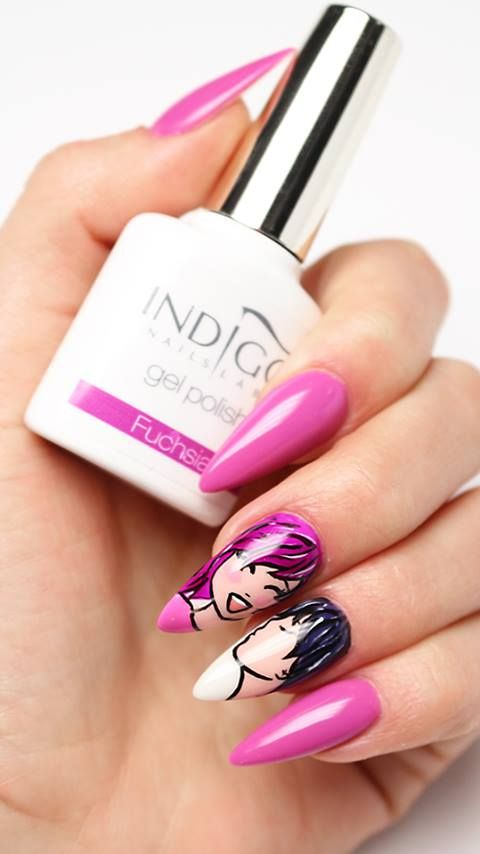 Indigo Gel Polish Double Tap if you like #nails #nailart #nailpolish Find more Inspiration at www.indigo-nails.com