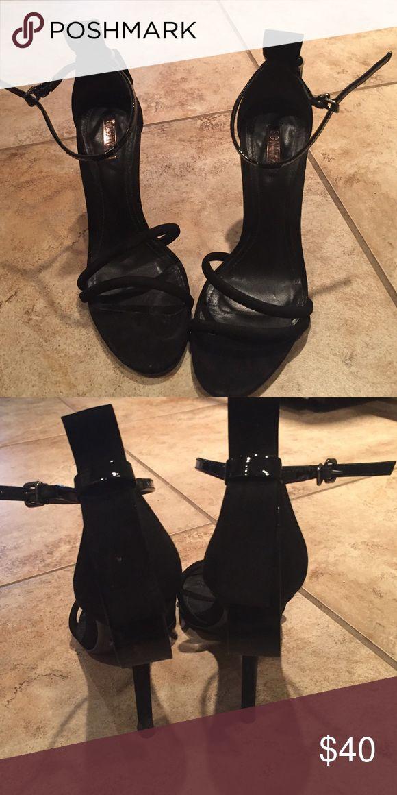 Schutz black dress sandal Super cute dress sandals. Only worn twice! SCHUTZ Shoes Sandals