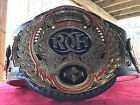 Ring of Honor replica Wrestling belt championship title figs inc ROH WWE TNA