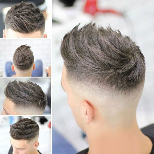 Best New Haircuts For Men - Quiff + High Fade