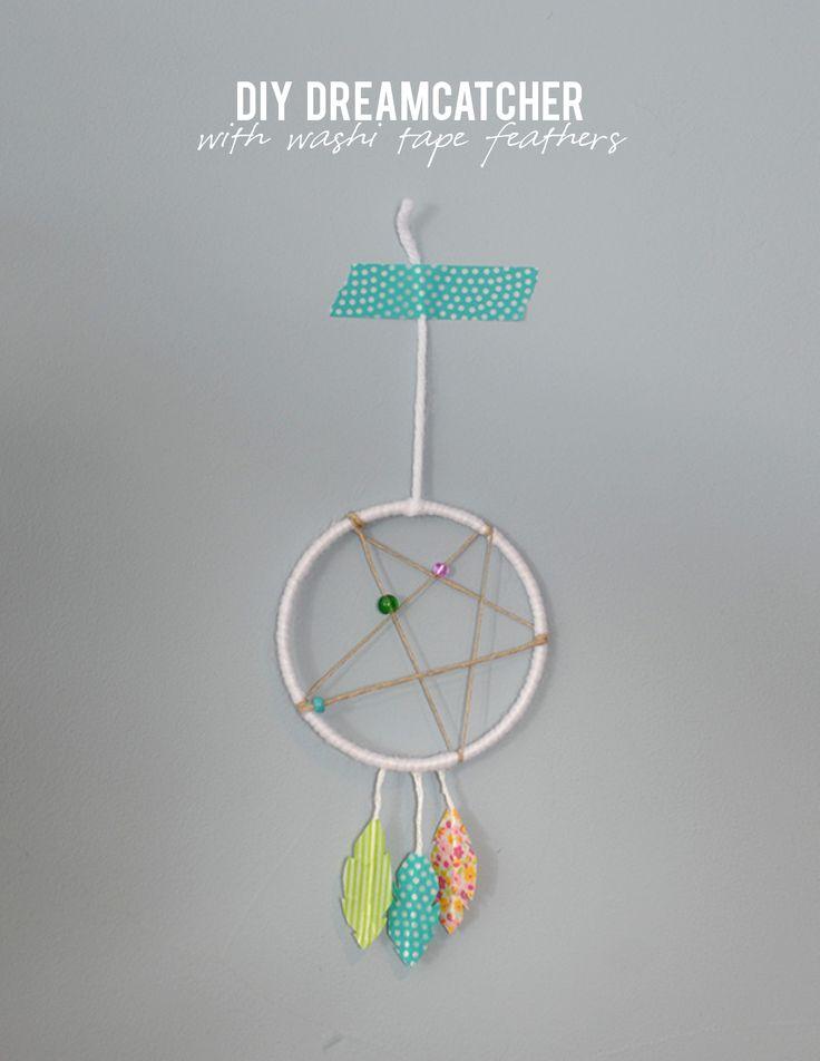 DIY modern dreamcatcher on aliceandlois.com
