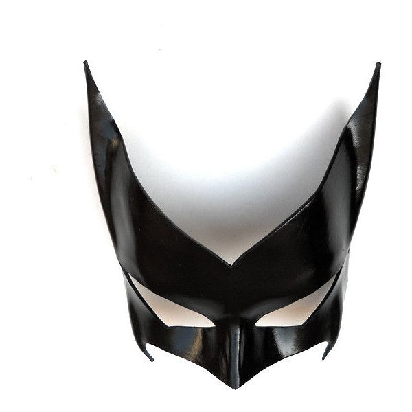 Batwoman Leather Mask Black Super Hero Kate Kane Cosplay Sexy... (160 BRL) ❤ liked on Polyvore featuring costumes, masks, costume, batman halloween costumes, sexy role play costumes, mardi gras costumes, sexy halloween costumes and superhero costumes