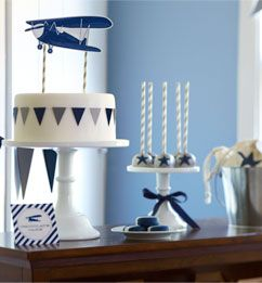 Plan a Vintage Airplane Birthday Party | Pottery Barn Kids