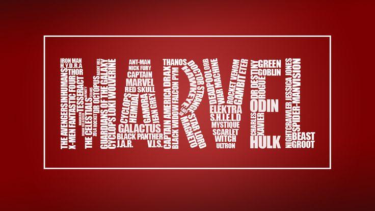 Caligrama Marvel - Gabriel Delarue