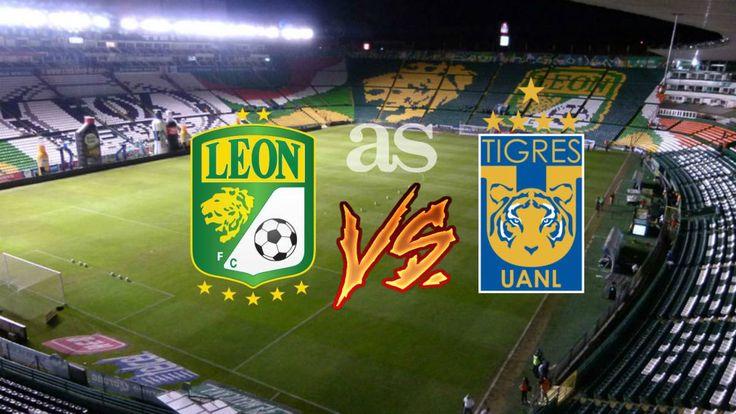 León vs Tigres en vivo online Liga MX jornada 13 - AS Mexico