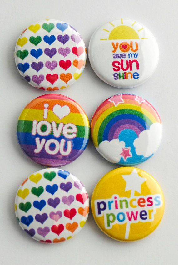 Project Life Rainbow Brads