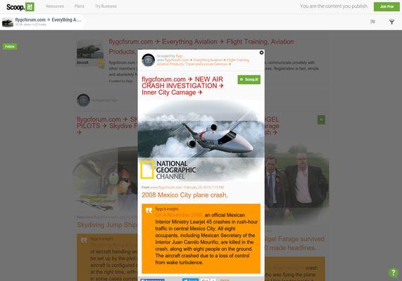 flygcforum.com ✈ NEW AIR CRASH INVESTIGATION ✈ Inner City Carnage ✈
